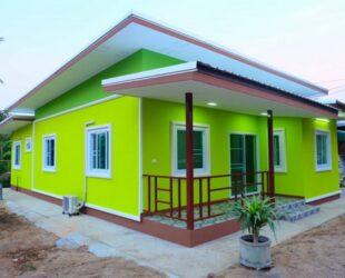 บ้านสีเขียวมะนาว